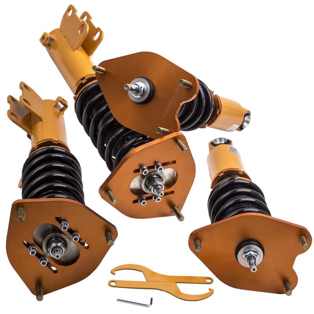 Performans için Coilovers Mitsubishi Eclipse 4G 2006-2012 Sifat Damperi darbe emici gergi