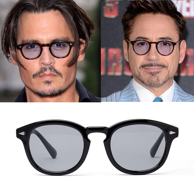 Vikulsi Super Star Sunglass Men Vintage Fashion Sunglasses Women Brand Designer Johnny Depp Rivet Sun Glasses Oculos de sol