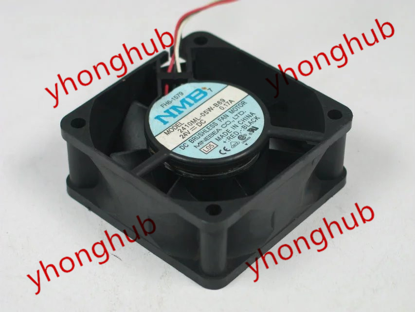 NMB-MAT 2410ML-05W-B69 L05 DC 24 V 0.17A 60x60x25mm Sunucu Kare Fan