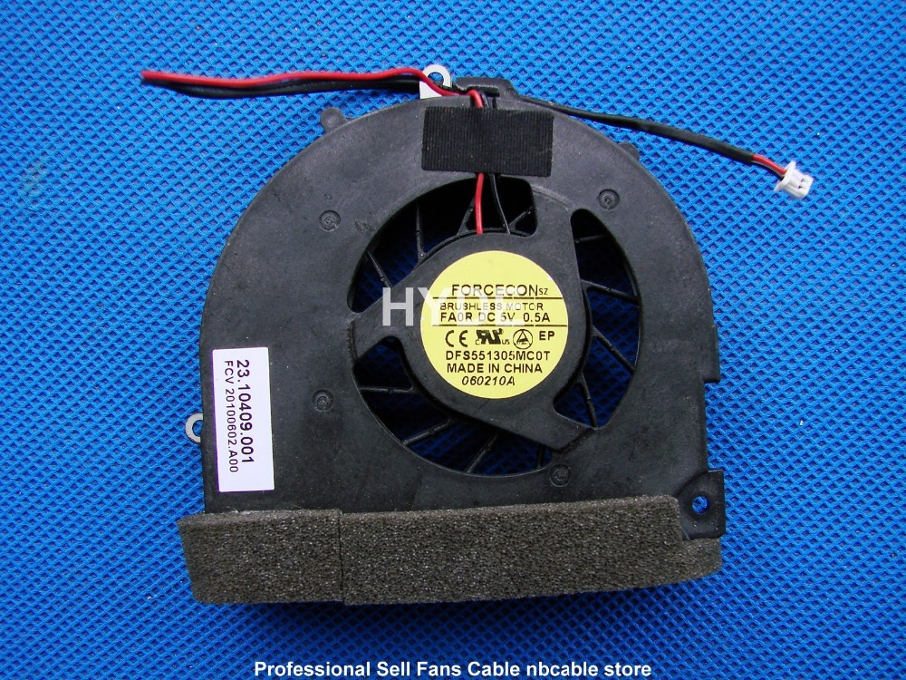 YENI FORCECON DFS551305MC0T FA0R DC5V 0.5A 23.10409.001 CPU SOĞUTMA FAN 2PIN